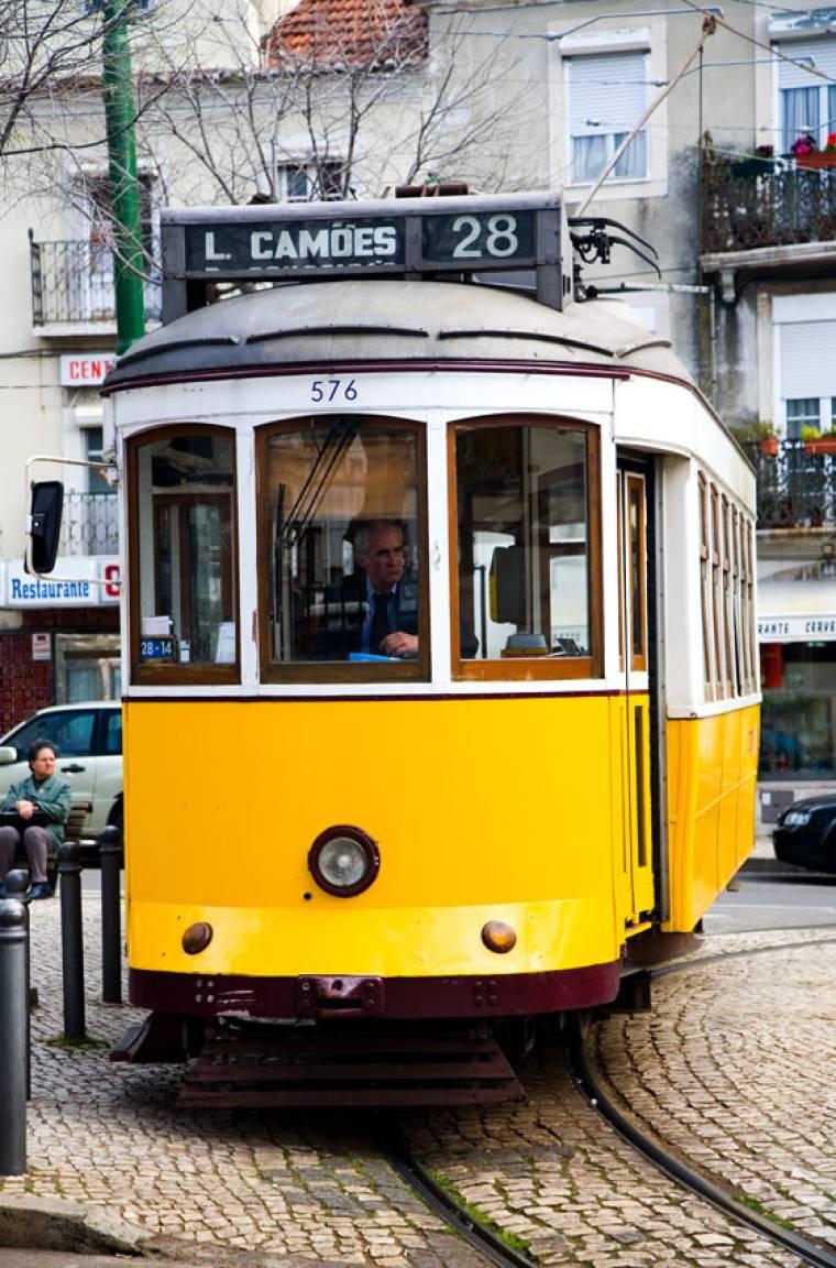 Number 28 Tram - Lisbon