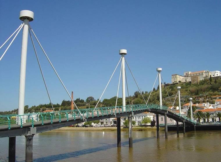 Footbridge over the Sado - Alcacer do Sal