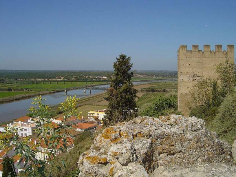 Alcacer Castle View