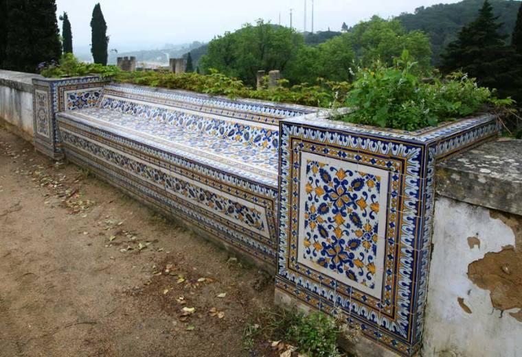 Azulejo Bench - Tomar