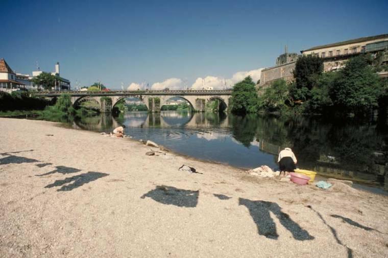 Cávado River in Barcelos