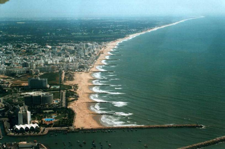Beach Groynes from the Air