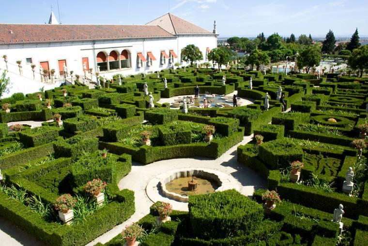 Jardim do Paço Episcopal - Castelo Branco