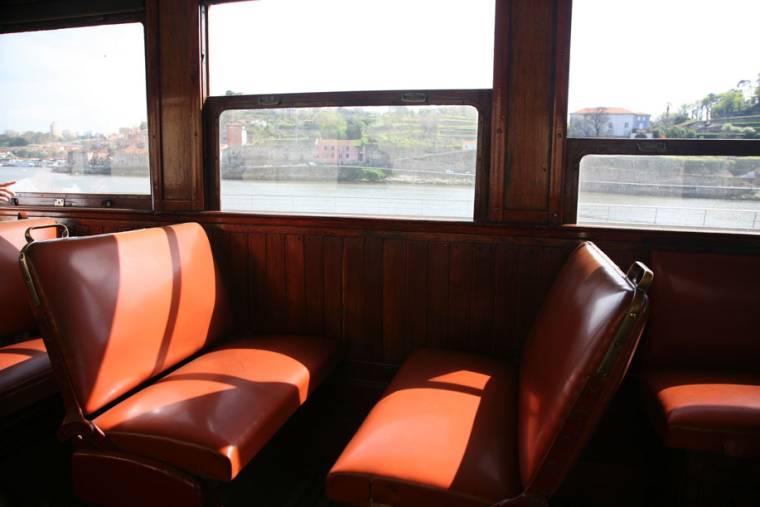 River Douro from Porto Tram