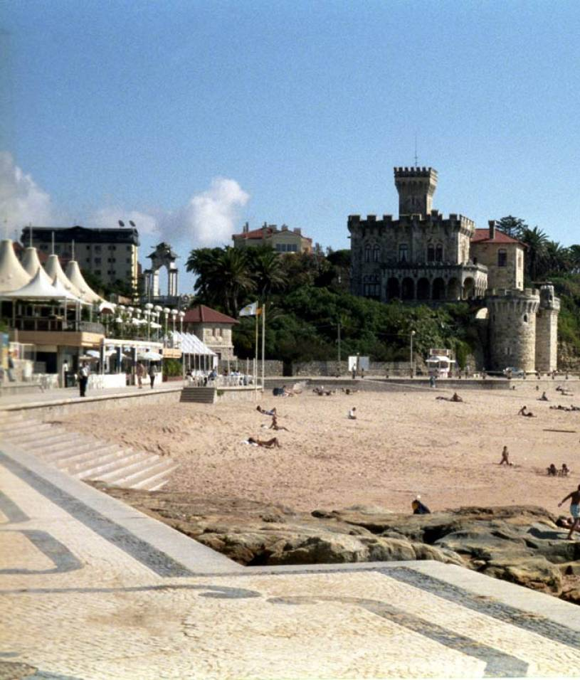 Estoril Beach near Lisbon