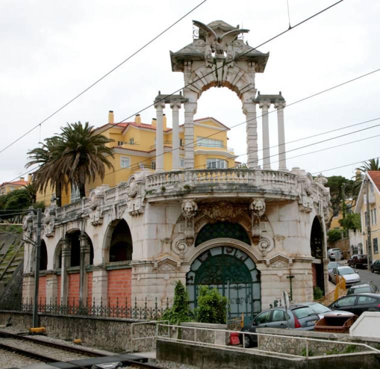 Interesting Estoril Architecture