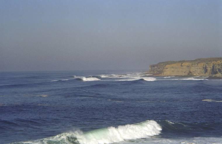 View Across Ribeira d'Ilhas in Ericeira