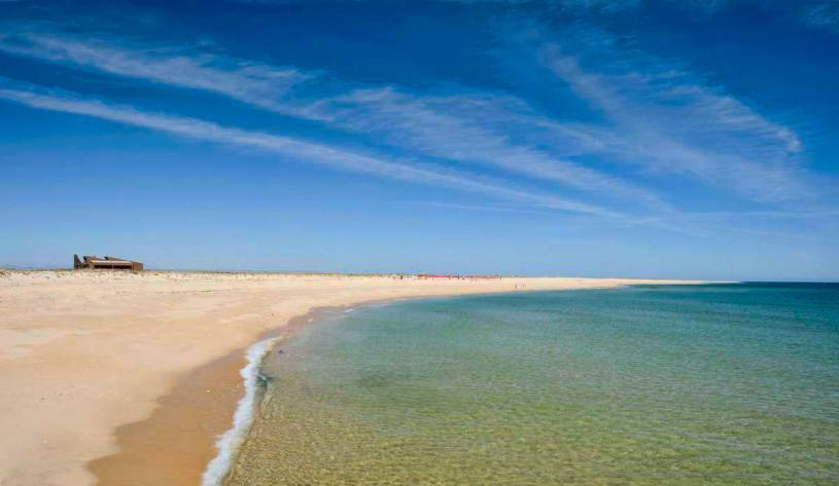 Ilha Deserta beach - Faro