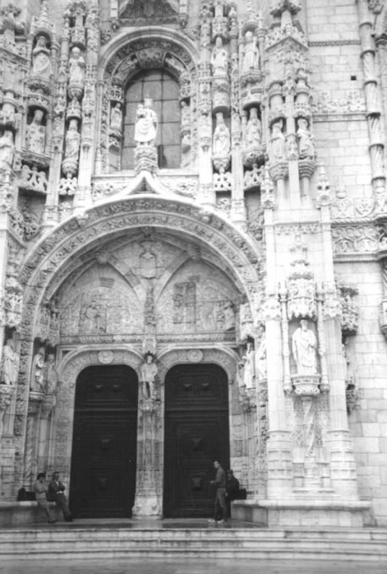 Entrance to Jeronimos Monastery