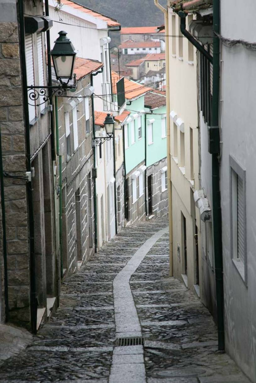 Street in Old District of Lamego