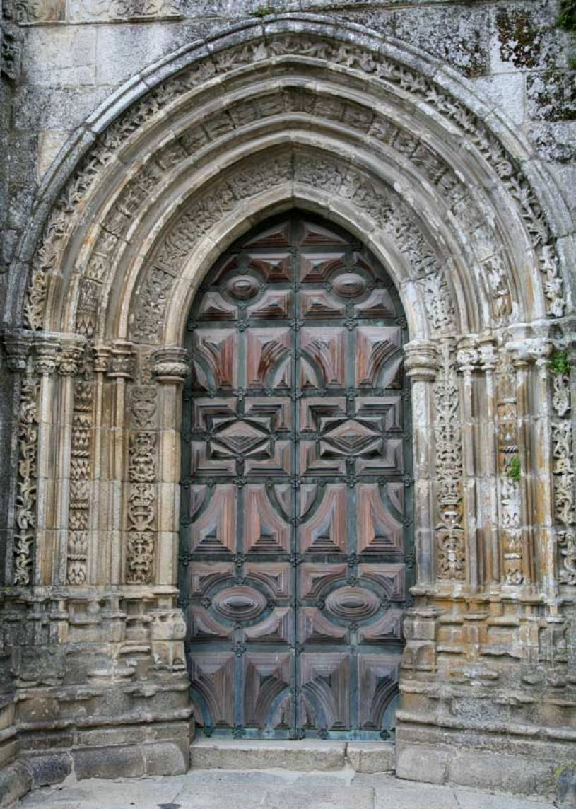 Lamego Cathedral Door