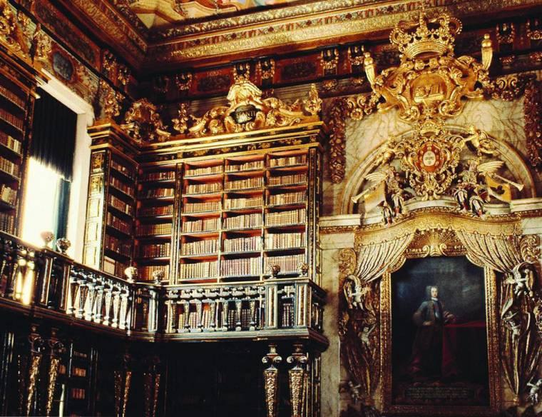 Joanina Library Interior - Coimbra