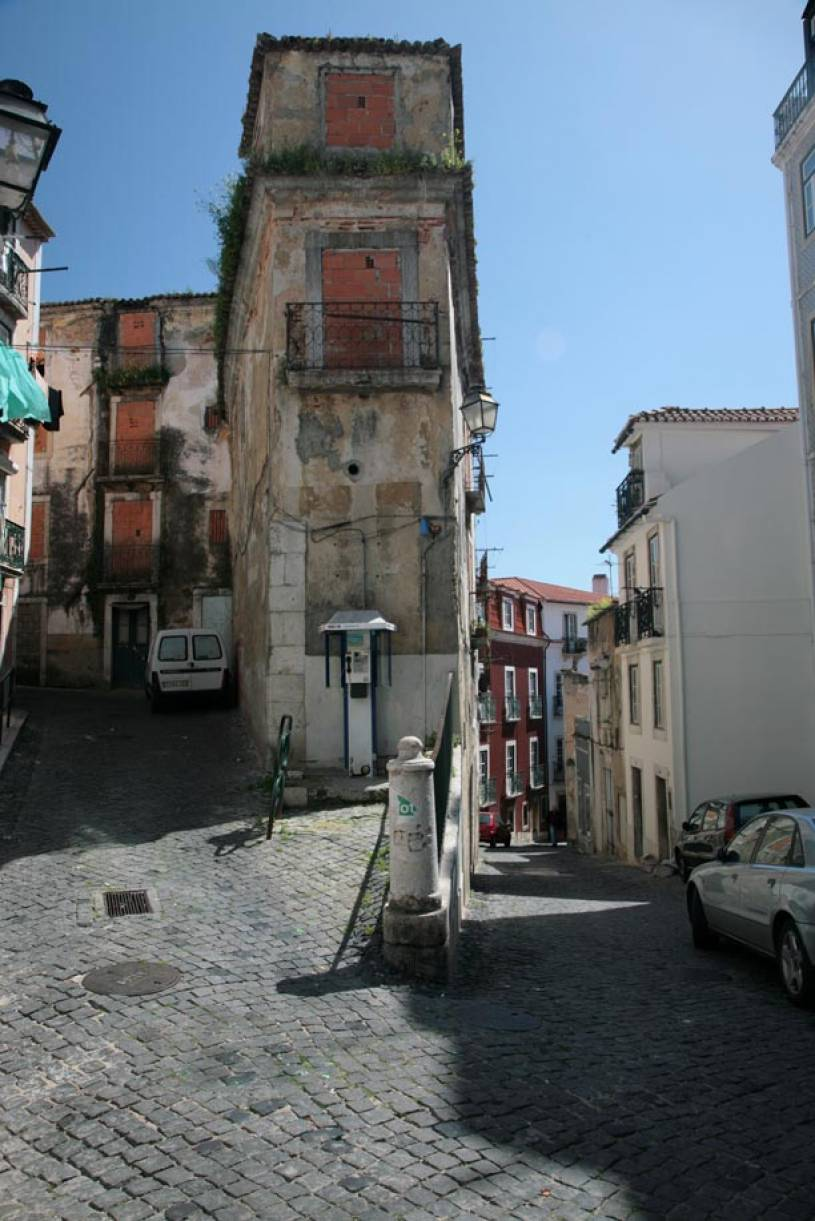 Run Down Alfama House - Lisbon