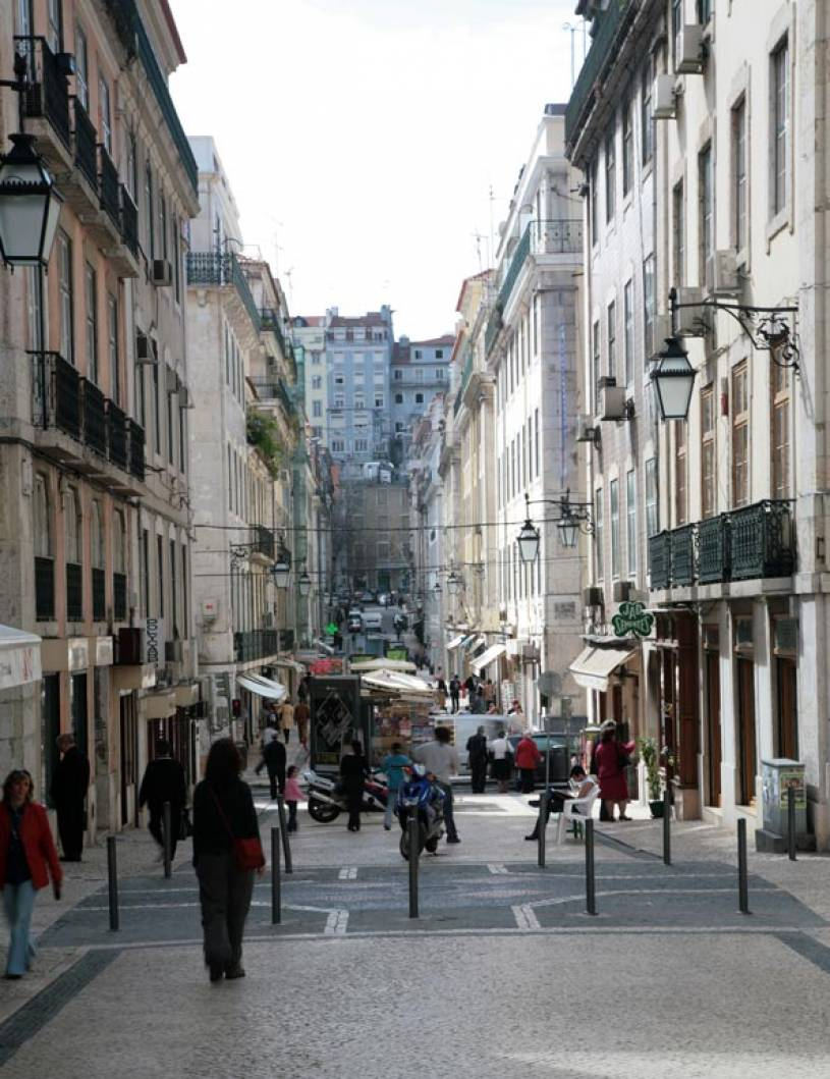 Baixa Street - Lisbon