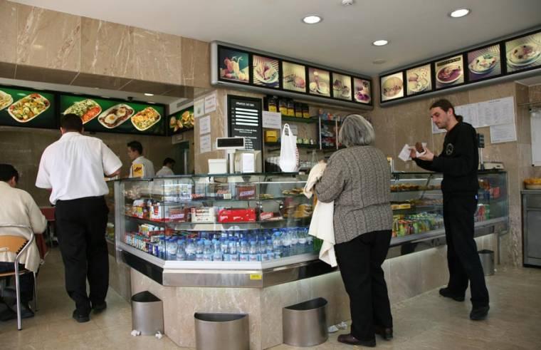 Typical Lisbon Cafe