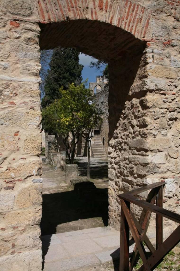 Castelo Sao Jorge Inside