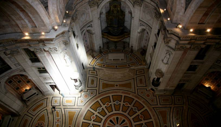 National Pantheon Interior - Lisbon