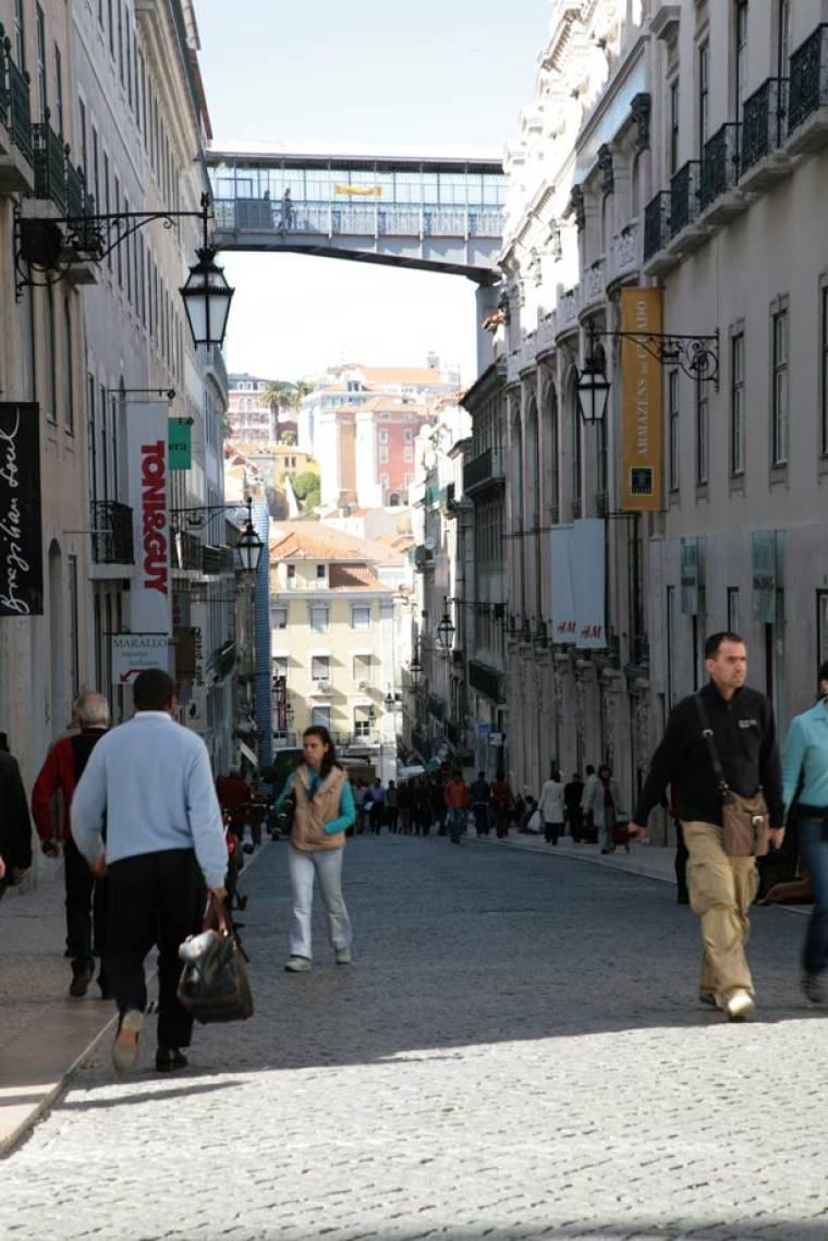 Rua Garrett - Lisbon