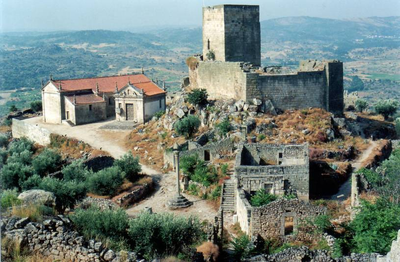 Marialva Castle and Village