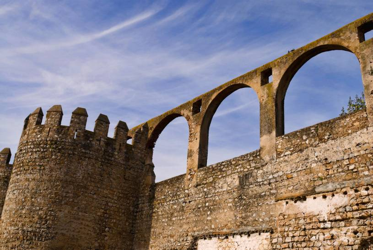 Moura Castle walls