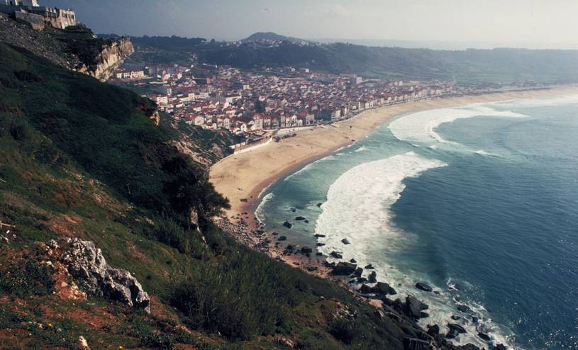Nazare beach vista