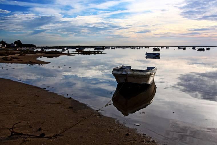 Olhao Boats