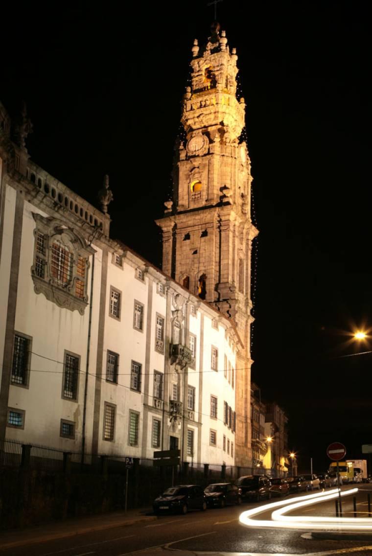 Clerigos Tower at Night - Porto