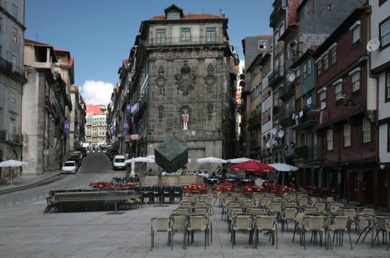 Praça da Ribeira - Porto