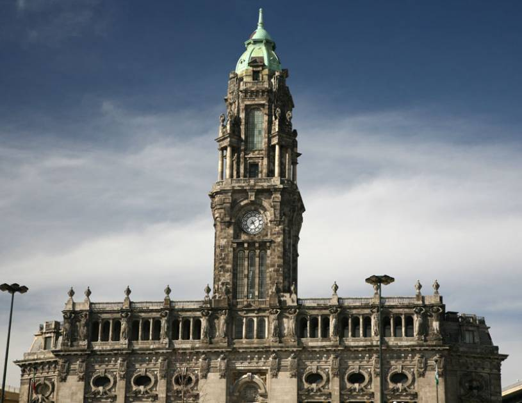Town Hall Detail - Porto