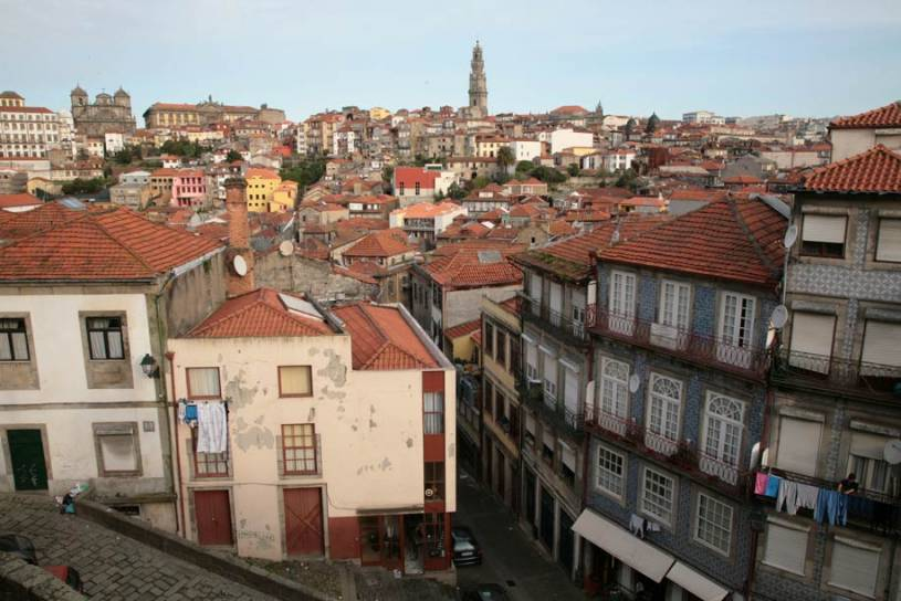 Porto View from the Sé