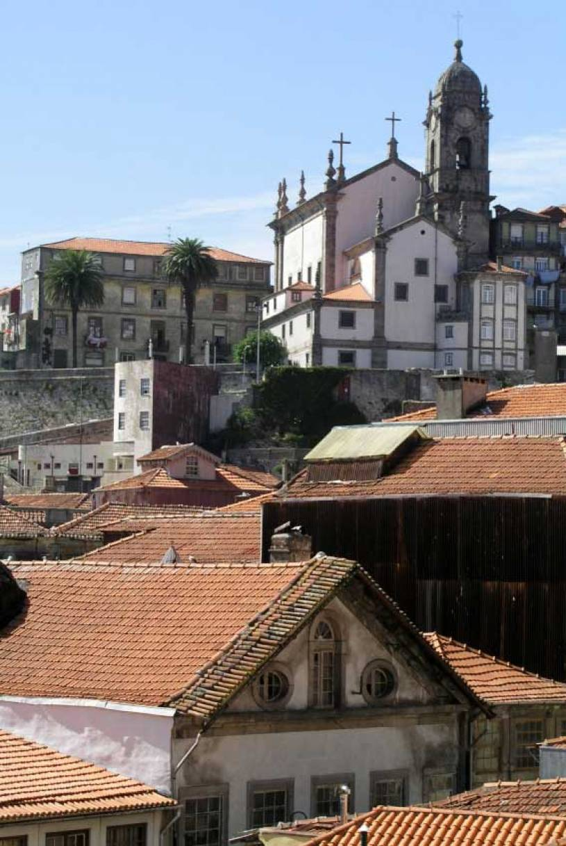Porto Rooves and Church