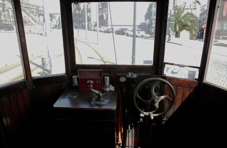 Porto Tram - Drivers View