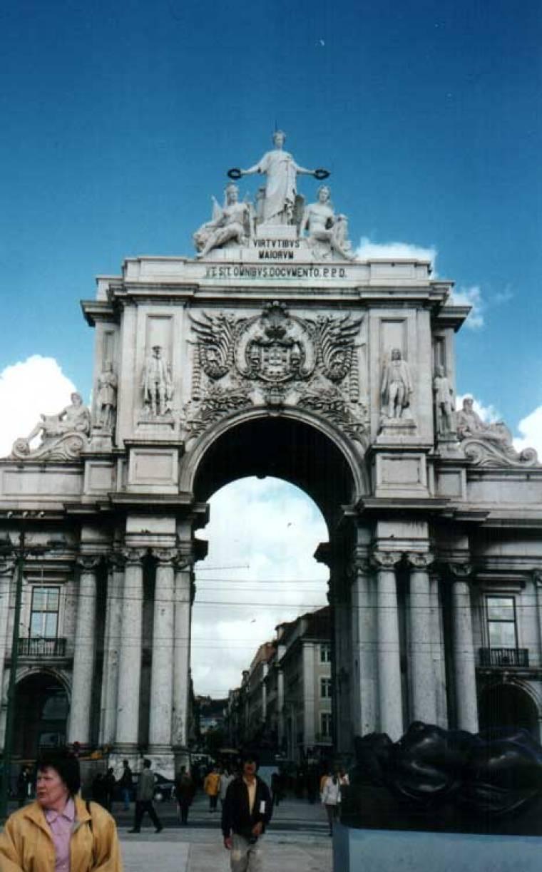 Praca do Comercio Arch