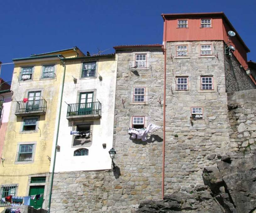 Houses in the Ribeira - Porto