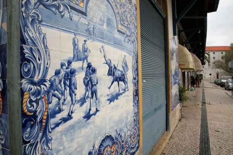 Bullfighting Azulejos - Santarem