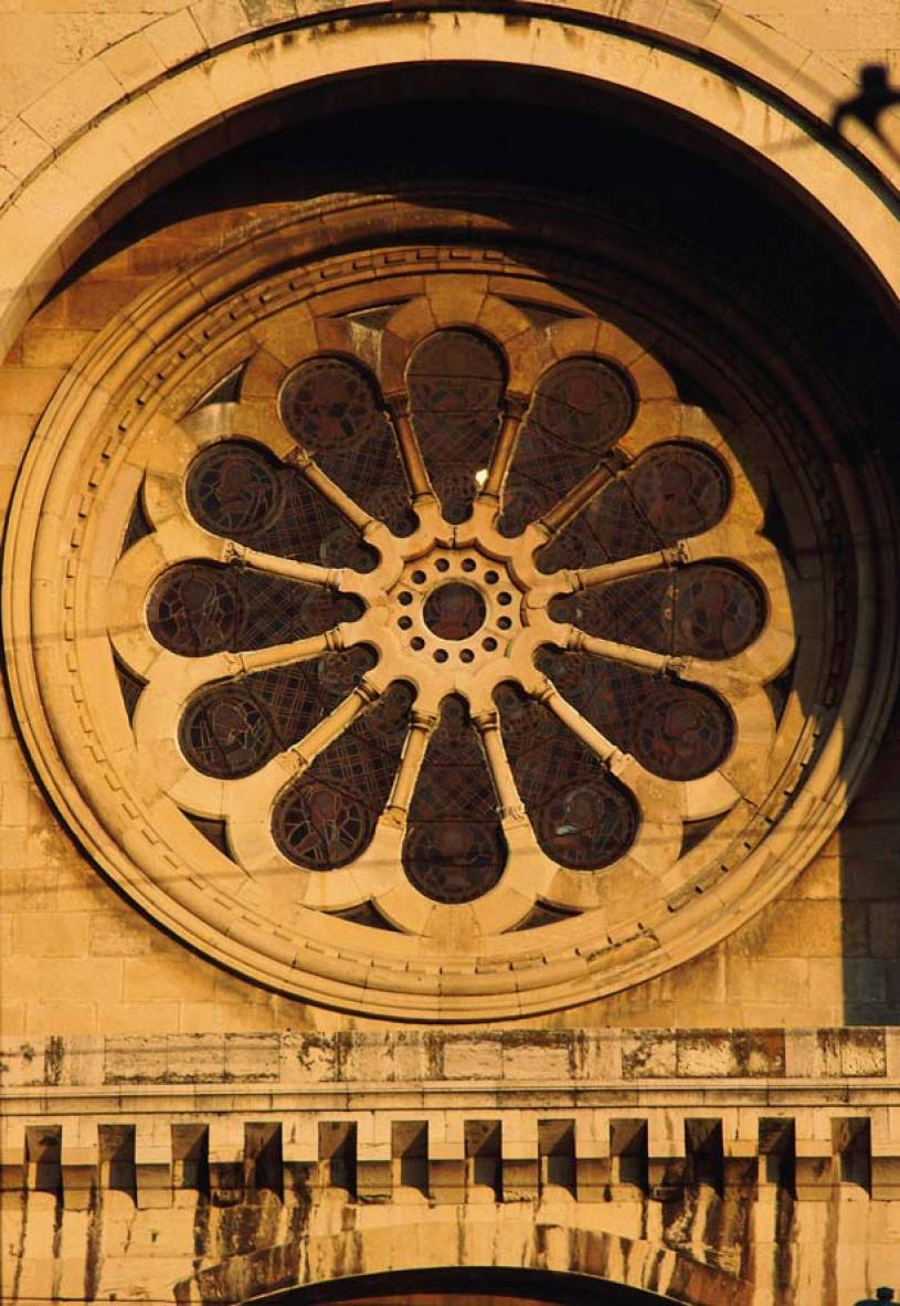 Rose Window -The Sé Lisbon