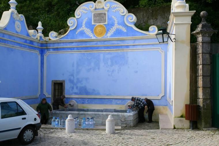 Filling Water Bottles - Sintra