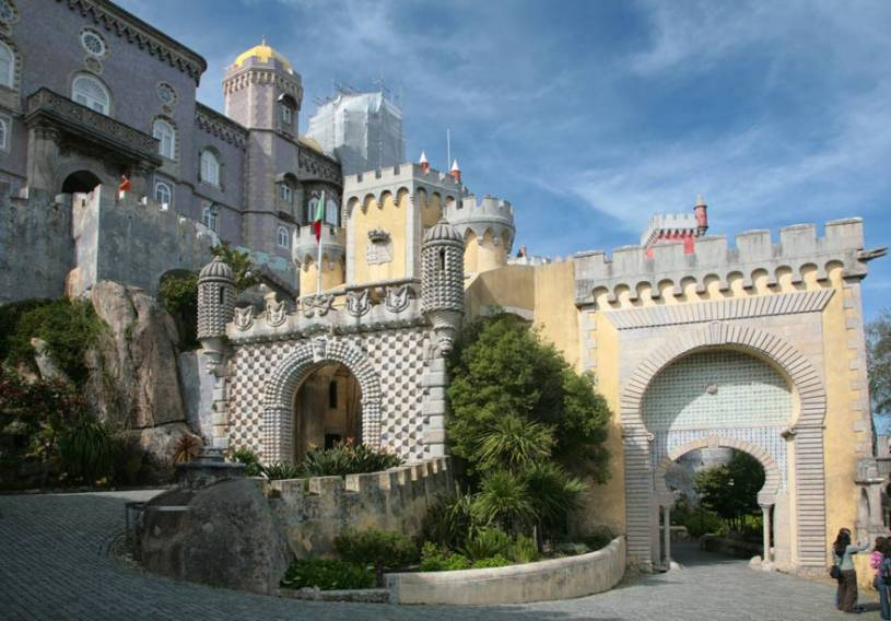 Pena Palace Entrances - Sintra