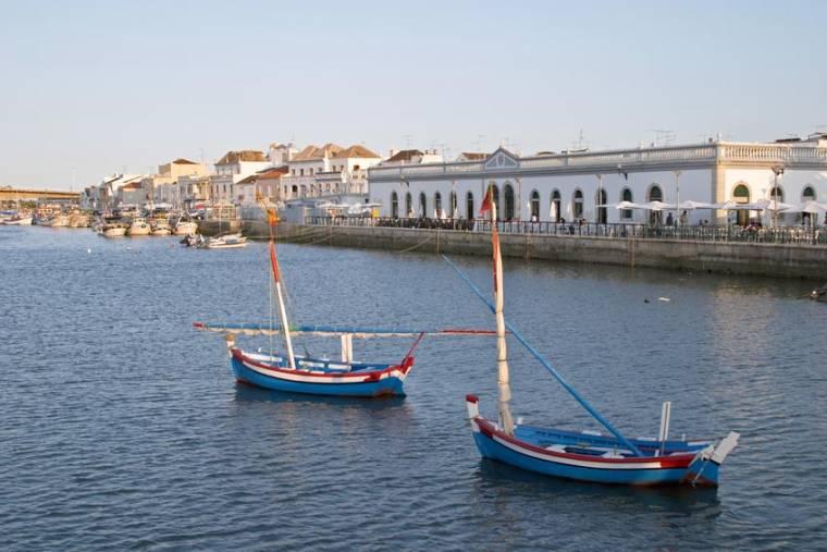 Tavira Boats