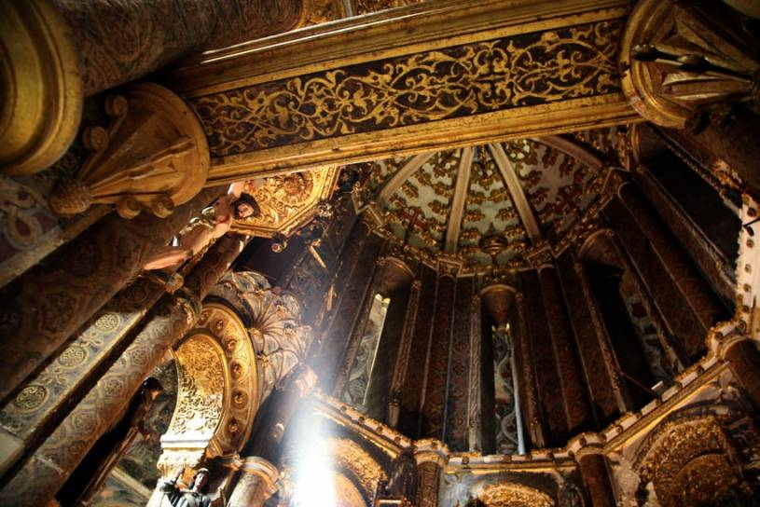 Round church - Convento de Cristo - Tomar