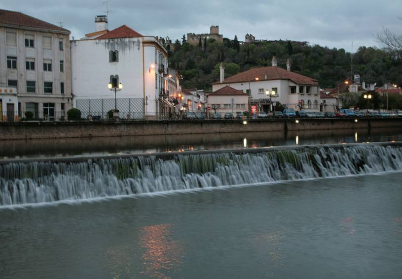 Weir on the River Nabao - Tomar