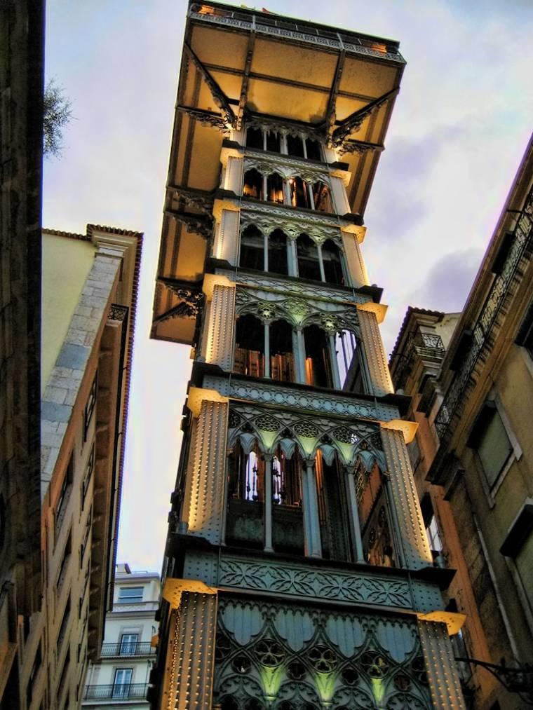 Santa Justa Lift - Lisbon