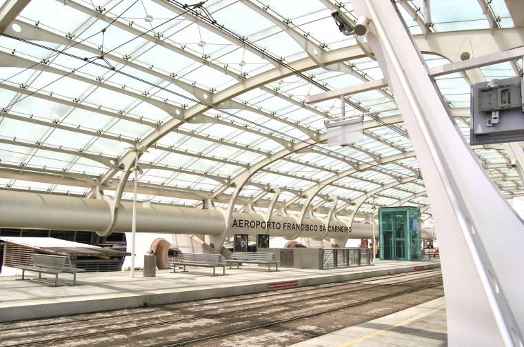 Metro station - Porto airport
