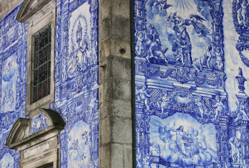 Azulejos - Capela de Santa Catarina - Porto church