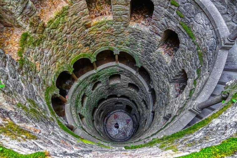 Pozo Iniciático well - Quinta da Regaleira - Sintra