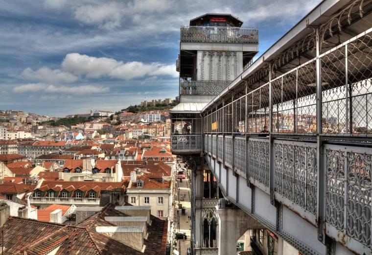 Santa Justa Elevador - Lisbon