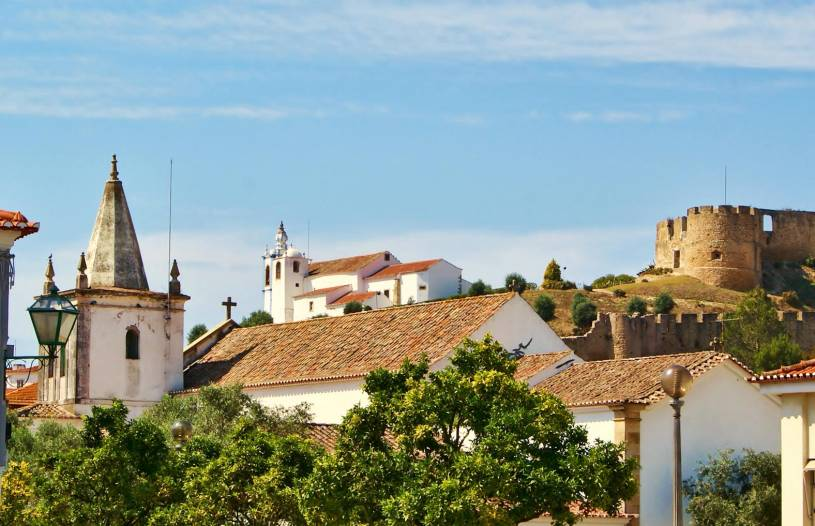 Torres Vedras - Old town - Castle and church
