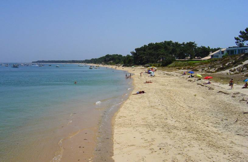 Troia Peninsula beach