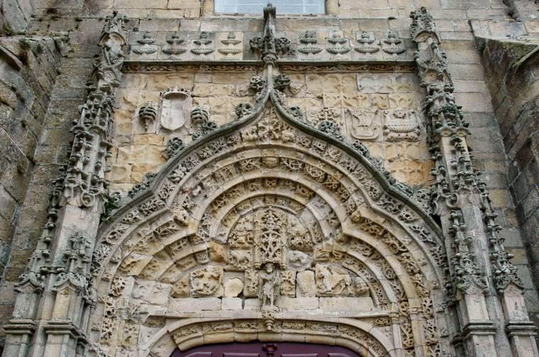 Manueline entrance - Igreja Matriz - Vila do Conde